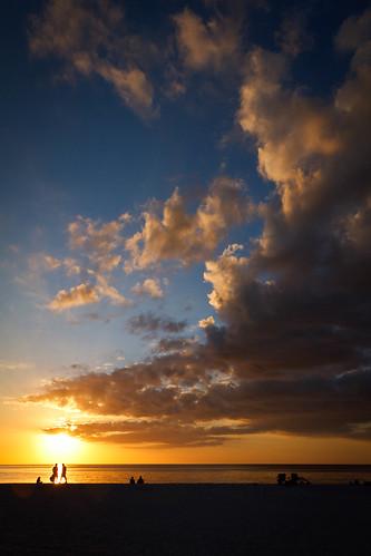 ocean sunset sea sky usa sun gulfofmexico water clouds canon florida cloudy rick indiana 7d tamron fortwayne lightroom marcoisland stemmler 18270 rickstemmler