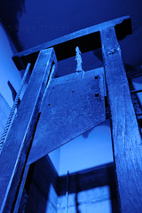 Netherlands, Amsterdam, the Torture Museum, the guillotine