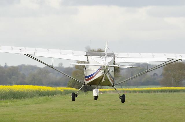 Landing at Priory Farm