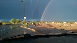 Double Rainbow on Drive Home | by AlienSplicer