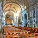 Interior da igreja dos Loios