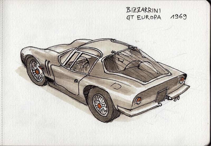 Bizzarrini GT Europa (1969)