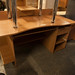 Beech desk cw storage €80