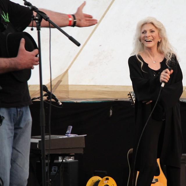 Judy Collins at Sedbergh Folkfest June 2011