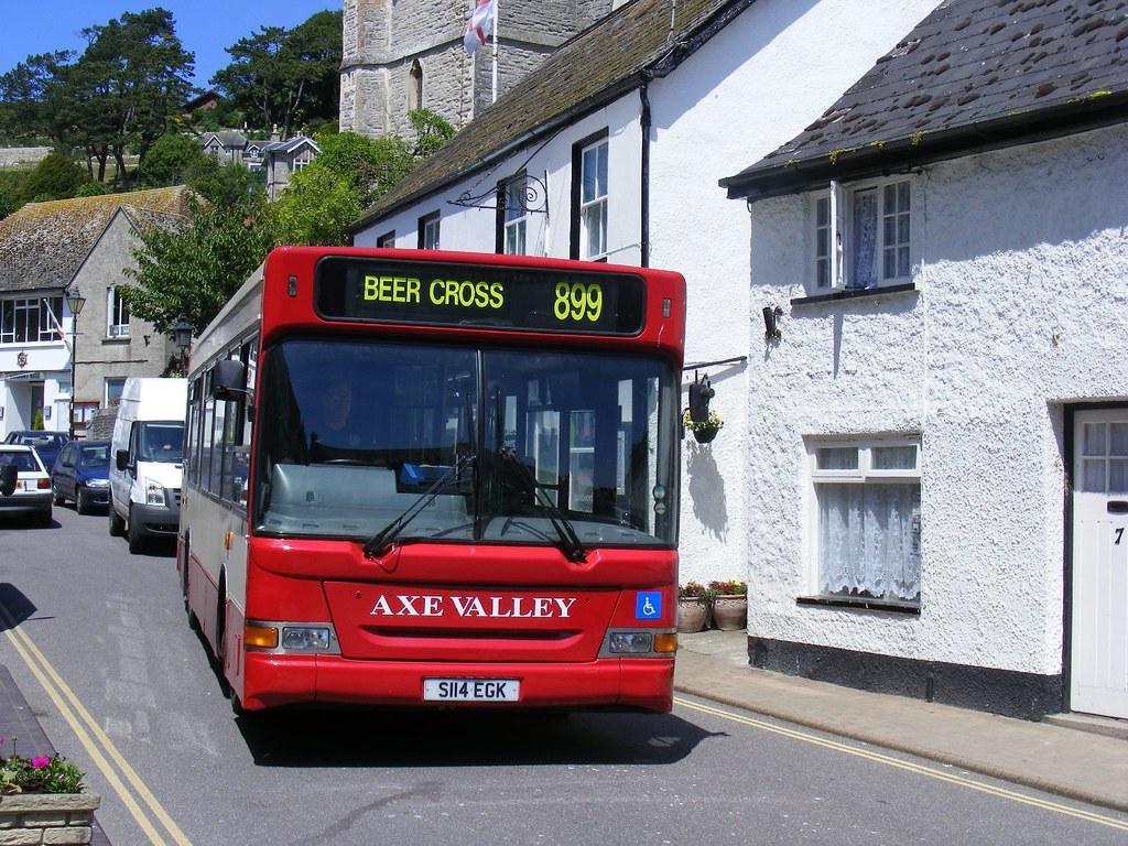 899 Axe Valley route Beer, S114 EGK,Devon  | S114EGK , Route