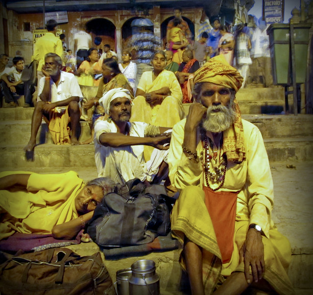 aarti on the ganga, dharshashumedh ghat, Varanasi