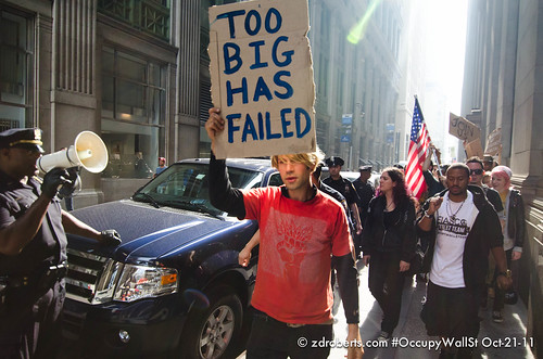 Occupy Wall St Sept-21-11 | by zroberts