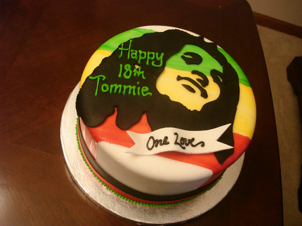 Phenomenal Bob Marley Cake Bob Marley Cake See More At Madelizas Com Personalised Birthday Cards Veneteletsinfo