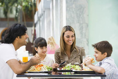 Family having lunch at restaurant | by Tetra Pak