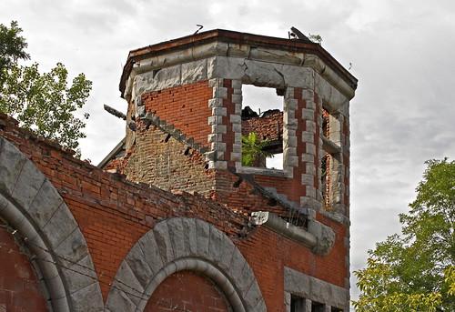newyork abandoned ruins industrial crumbling lockport