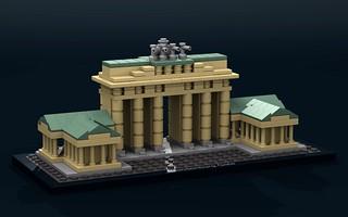 21011 Brandenburg Gate | by SafePit