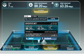 Speed Test @ Bell-Labs   by jeanbaptisteparis