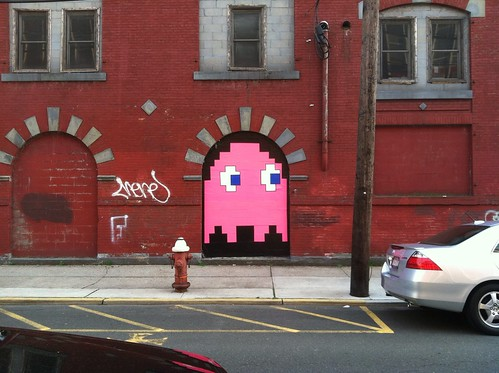 Pac-Man Ghost in Hoboken | by joebeone
