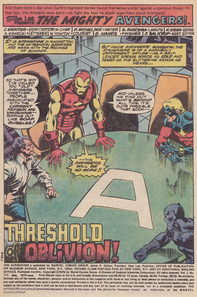 The Avengers Reihe