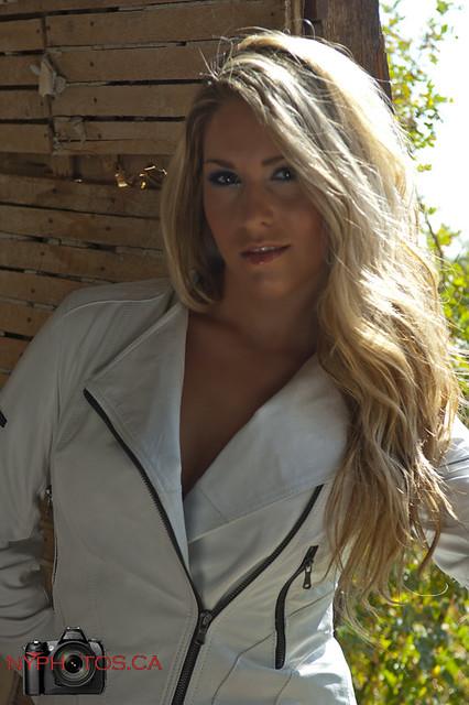 Kelsi - white leather