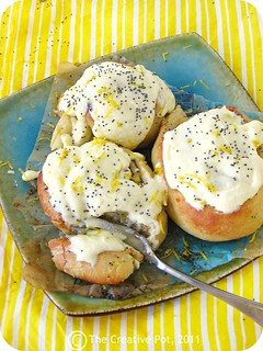 Lemon Poppy Seed Cinnabons g-w | by The Creative Pot