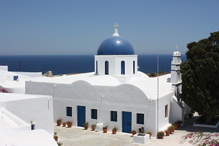 Santorini, St. Artemios church