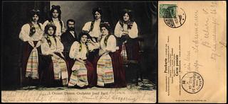 Josef Bartl's Oesterreichische Damen-Orchester, Wilhelmshaven, Germany 1904.12.08