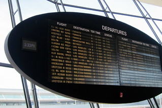 NYC - JFK Airport: TWA Flight Center - Departure Board | by wallyg