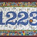 mosaic-house-numbers by Marion Owen