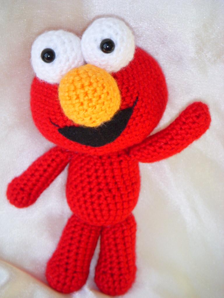 Key - Elmo / Amigurumi Elmo / Szydełkowy Elmo / Ulica sezamkowa ... | 1024x768