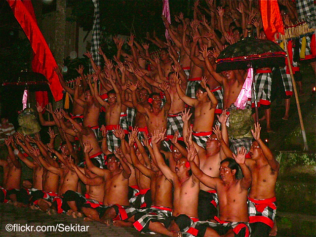 Kecak Dance, Ubud  Bali
