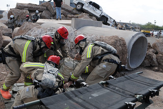 Homeland Response Force helps find, treat, save and decontaminate nuclear blast victims   by Like us on Facebook at CAGuard