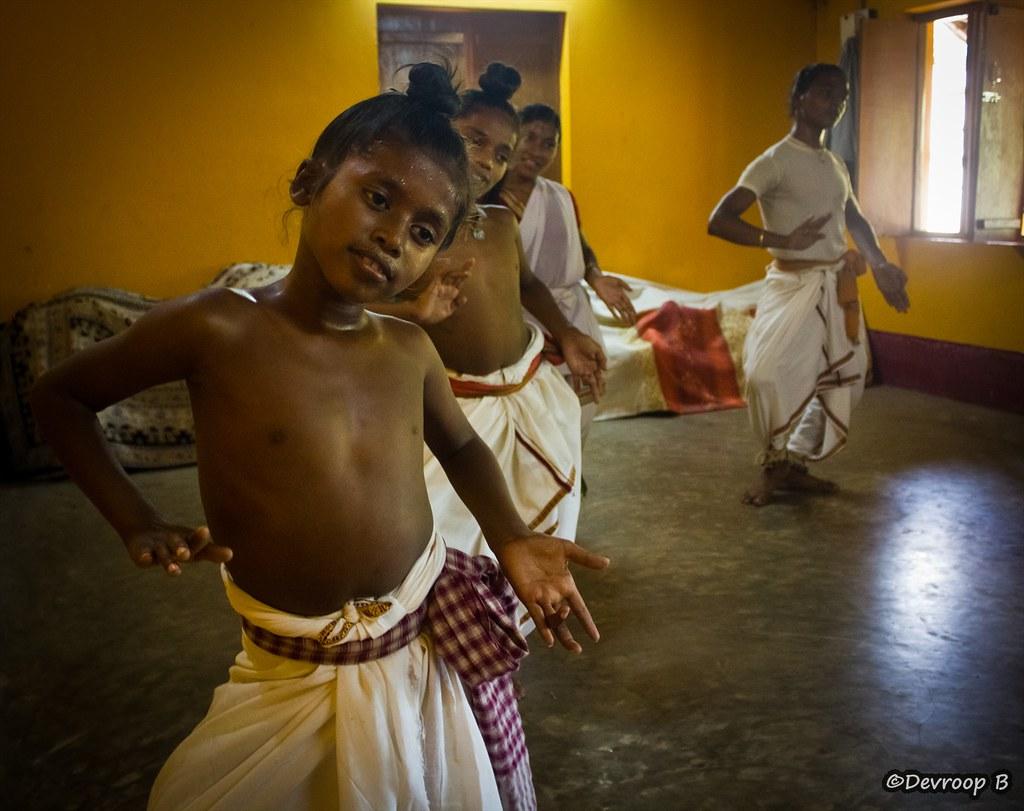Gotipua dance@Raghurajpur