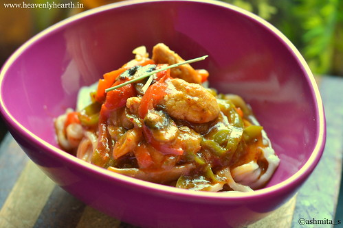 Thai Red Chicken Curry Noodles | by ashmita_s