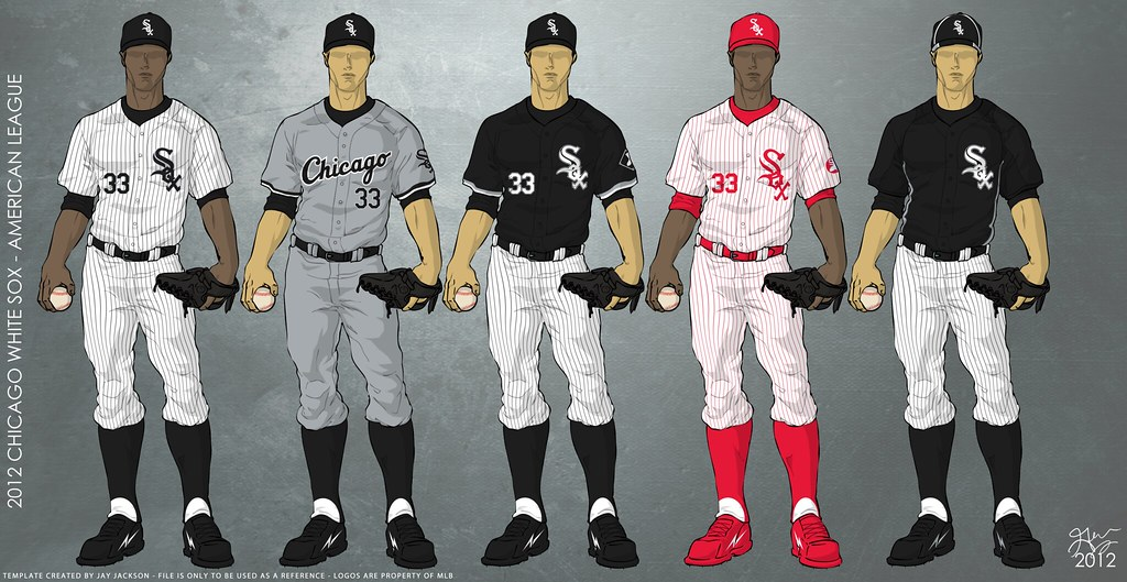 huge discount 191a9 b049e Chicago White Sox 2012 Uniforms | Uniforms to be worn for th ...
