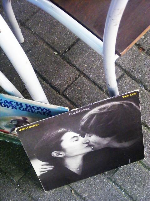John Lennon & Yoko Ono. a tribute in Vilnius