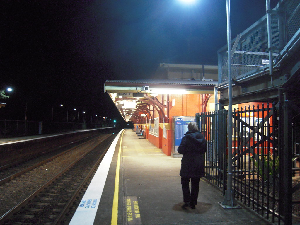 Mittagong Railway Station, 4 July 2011 by John Cowper