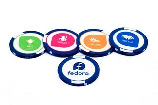 Fedora Poker Chips #2