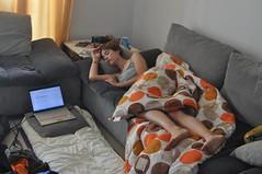 Couchsurfing (la segona nit ens van deixar el llit)