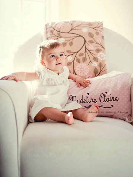 Personalized Minky Pillows