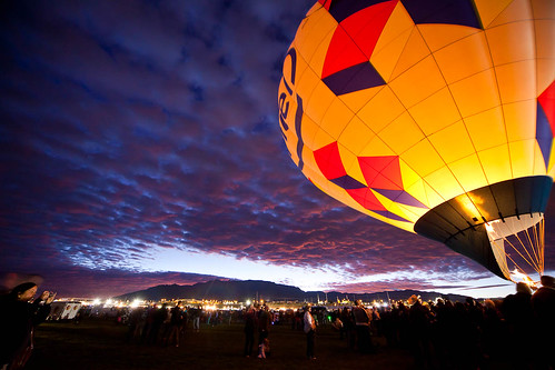 sky sunrise glow flames balloon albuquerque intel burner albuquerqueinternationalballoonfiesta