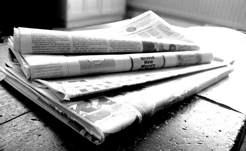 Newspapers B&W (4) | by NS Newsflash