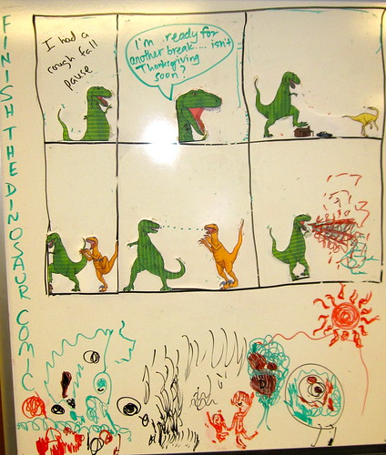 Dinosaur chaos
