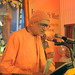 Swami Harshananda, President, Ramakrishna Math, Bengaluru addressing the audience. Inter-faith Meet held at the Ramakrishna Mission, Delhi.