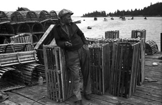 16-35 Vinalhaven, Maine 1936 lobster fisherman | by rich701