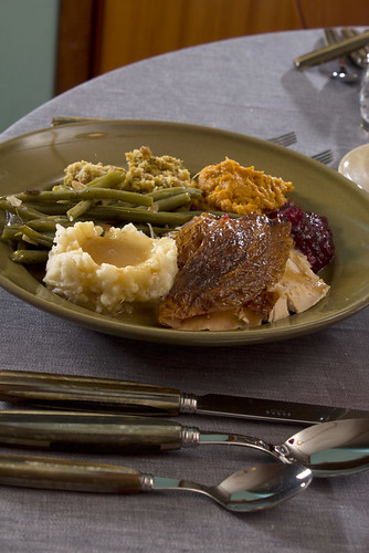 Thanksgiving Dinner on Heath Plate | by Didriks