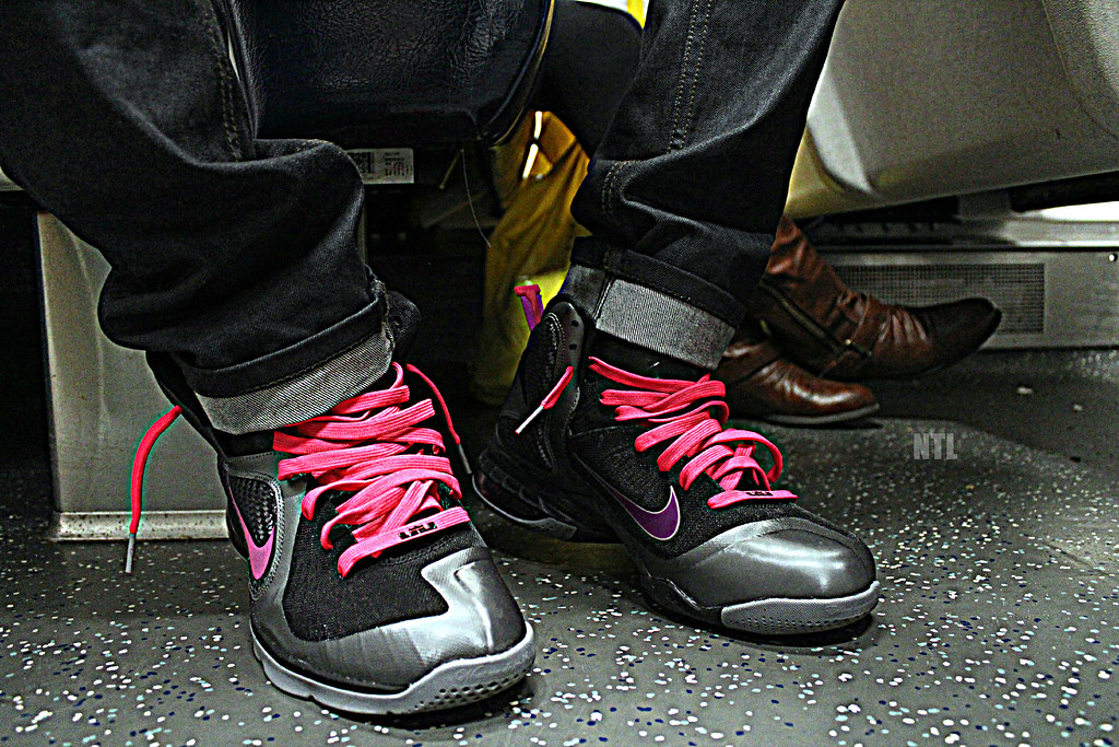 cheap for discount 6bce8 c2d2a ... Miami Nights LeBron 9   by Never Tie Laces