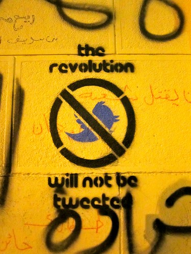 The revolution will not be tweeted.. | by Gigi Ibrahim