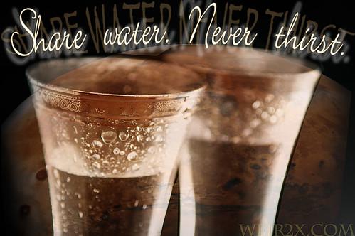 Share Water. Never Thirst.