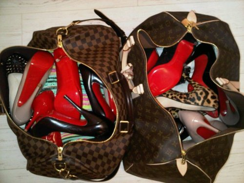 Louis Vuitton Meets Christian Louboutin Jordan23queen Flickr