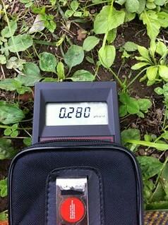 Safecast Probe 0006 JP Yoshikawa-shi Ground 0.280 uSV/hr