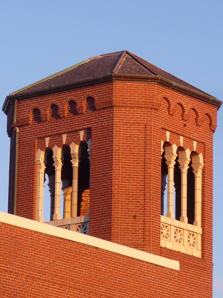Inman Square - Fire House tower, Cambridge, MA