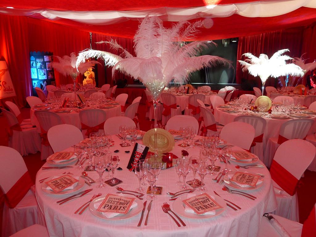 Theme Mariage Rouge Mariage A Theme Cabaret Decoration Rou