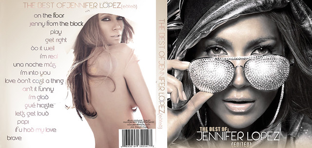 The Best Of: Jennifer Lopez [COVER+BACK COVER]