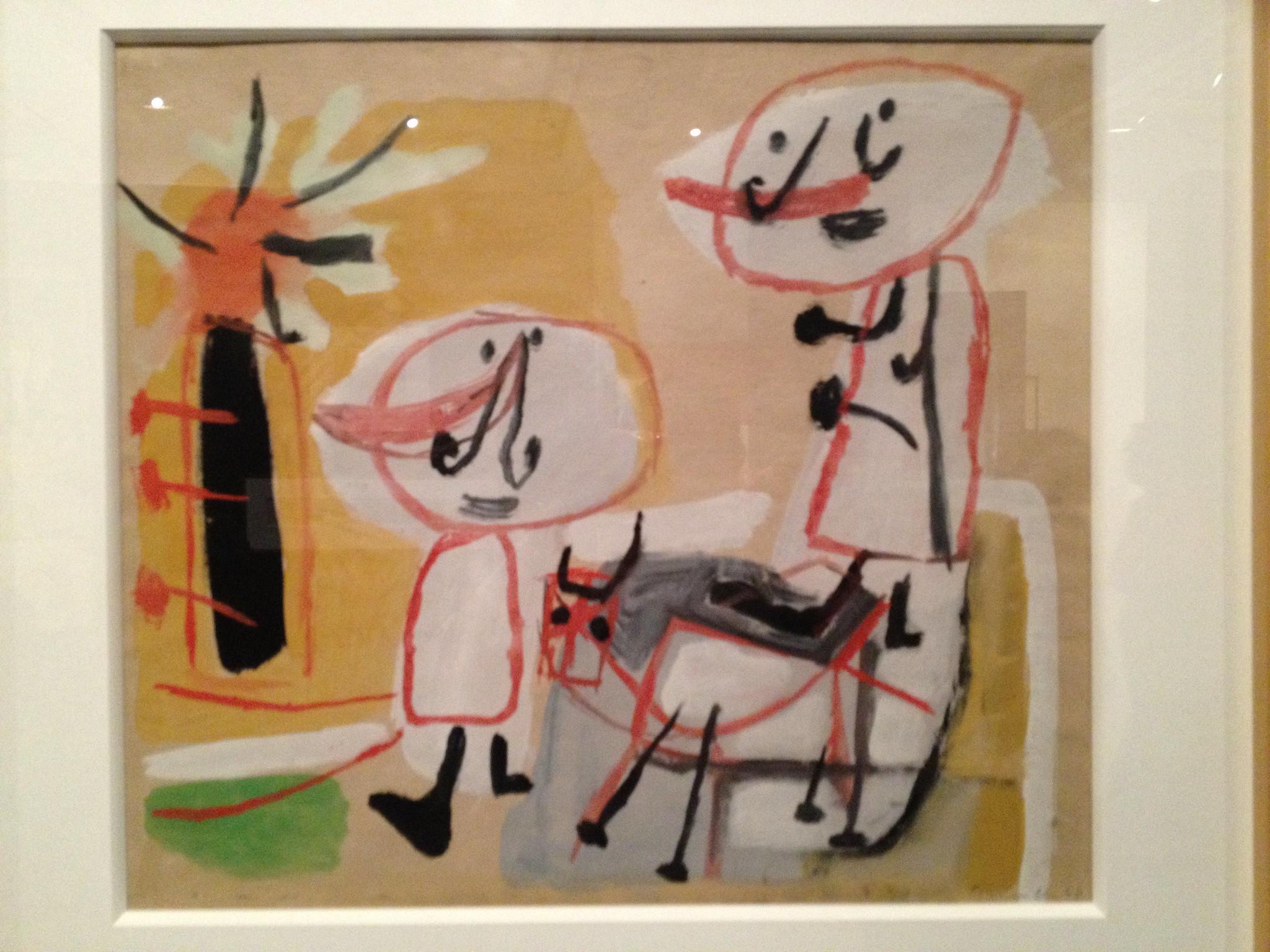 Corneille, Familie met Hond, 1949